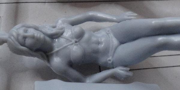 female figure close up