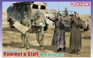 Dragon (6723) 'Rommel & Staff' North Africa, 1942