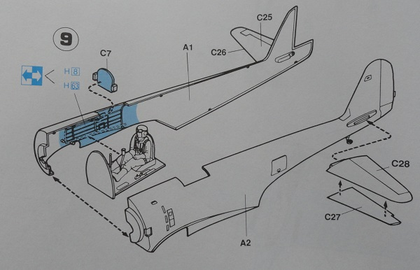 instructions fuselage join
