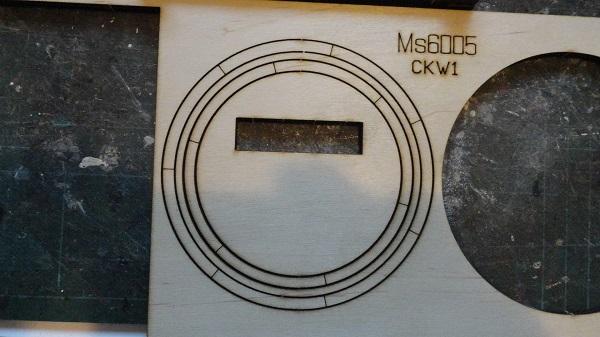 wheel in the flat plank
