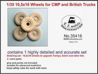 10.5x16 Wheels for CMP