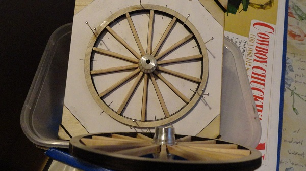 second hind wheel made up