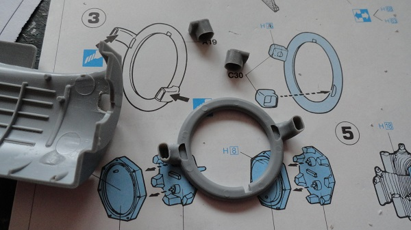 exhaust collector ring a