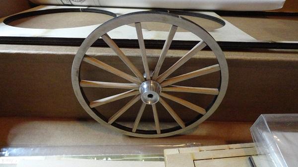 first built wheel