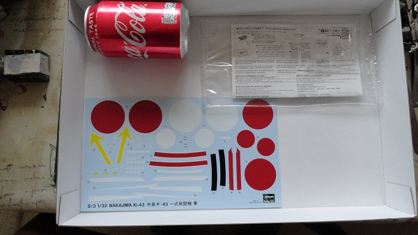 big decal sheet coke can scale