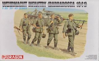 Dragon (6105) 'Wehrmacht Infantry (Barbarossa 1941)