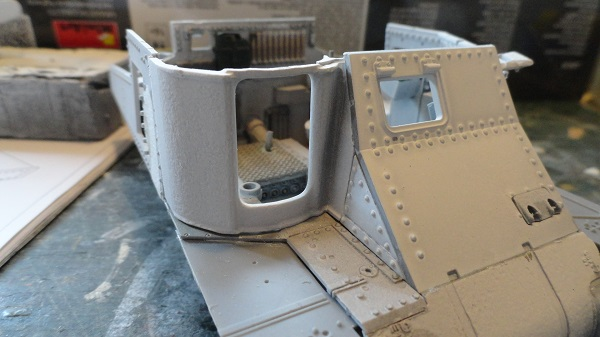 gun mounting fitted front