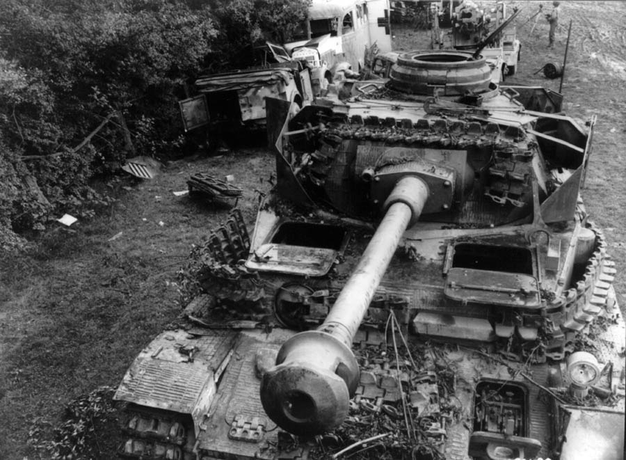 Panzer IV Ausf H Early - Vomag Version in Normandy