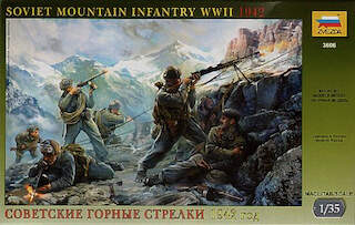 Zvezda (3606) 'Soviet Mountain Infantry' 1942