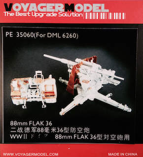 Voyager (35060) 88mm Flak 36 (for 6260)
